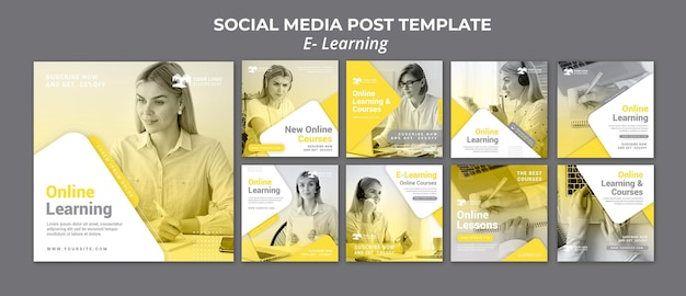 E leren van sociale mediapost