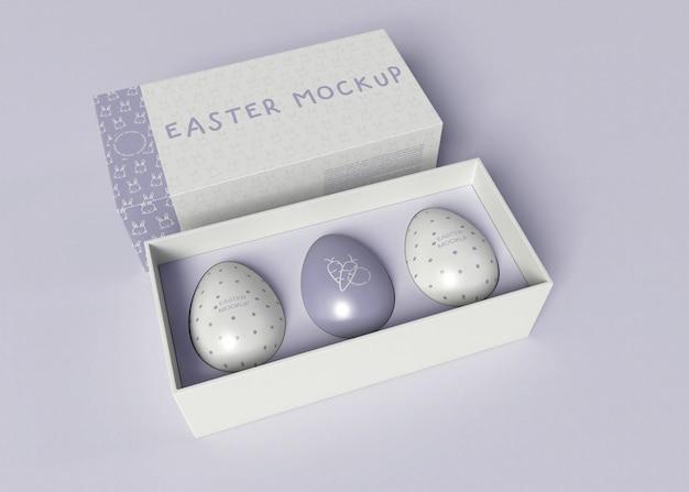 Easter egg pakket mockup