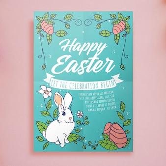 Easter flyer-sjabloon