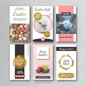 Easter instragram-verhaalsjabloon