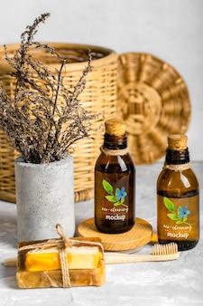 Eco schoonmaakproducten arrangement