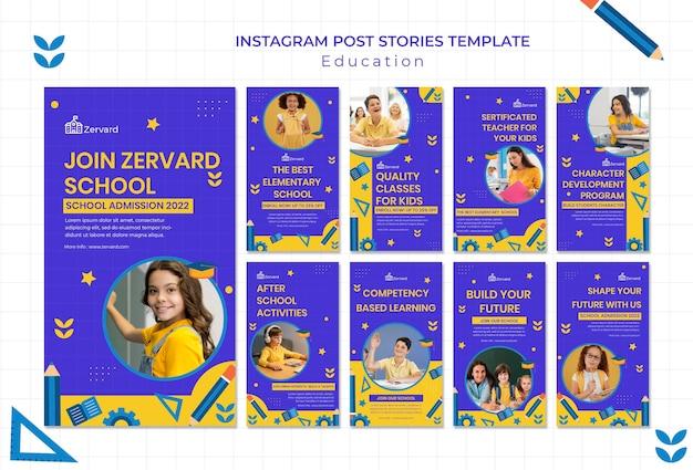 Educatieve verhalen op sociale media