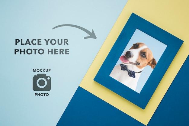 Eenvoudig frame voor foto's