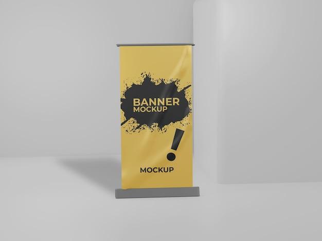 Eenvoudig oprolbare bannermodel