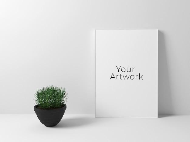 Eenvoudig poster frame mockup