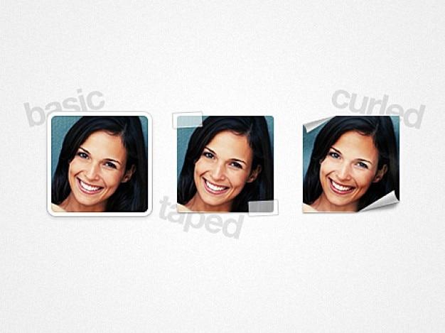 Eenvoudige avatars presets