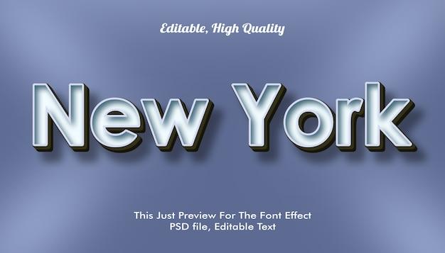 Efecto de fuente de nueva york