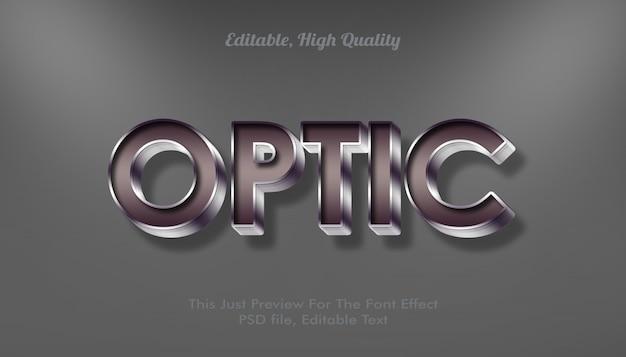 Efecto de fuente óptica