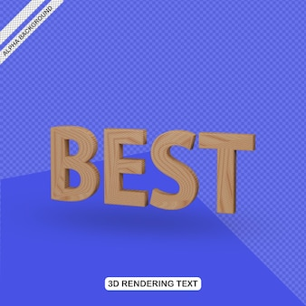 Efecto de texto 3d mejor renderizado