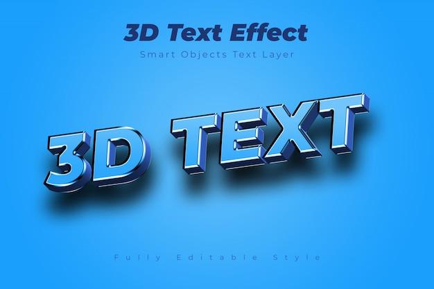 Efecto de texto en 3d