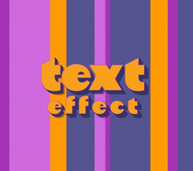 Efecto de texto colorido