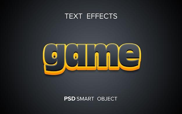 Efecto de texto en negrita creativo