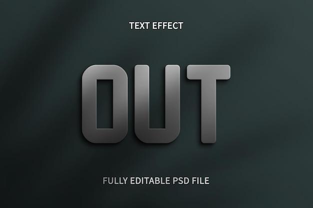 Efecto de texto