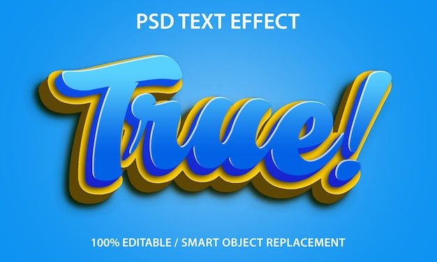Candy shop effetto testo design style effect | PSD Premium