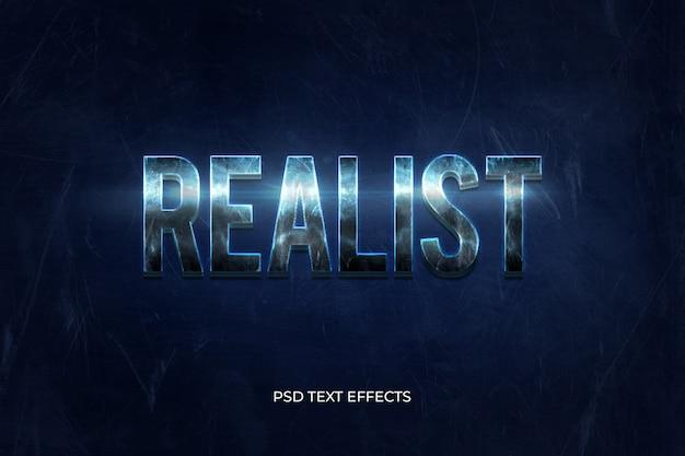 Effetti di testo realistici in 3d