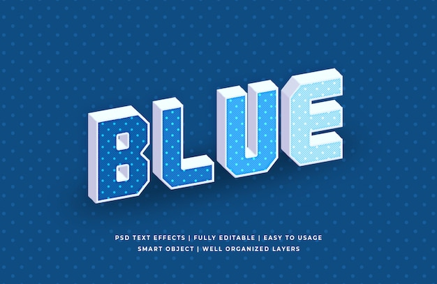 Effetto pop classico del colore blu dell'anno