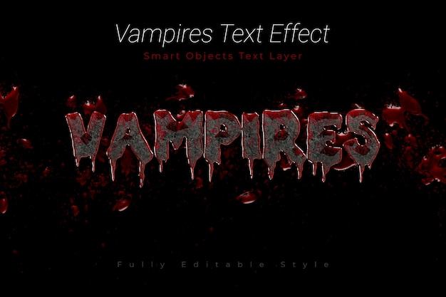 Effetto testo dei vampiri