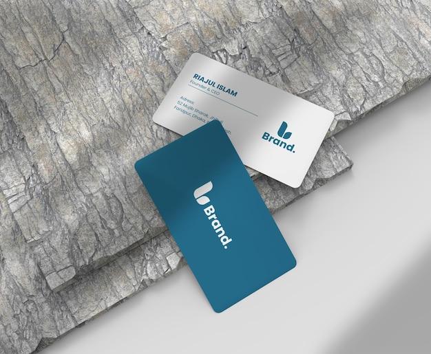 Elegant en modern visitekaartjemodel