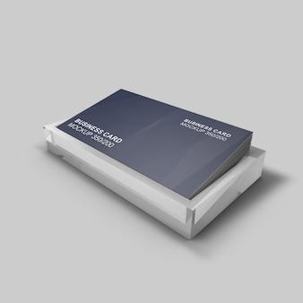 Elegant ontworpen netjes en schoon visitekaartjemodel