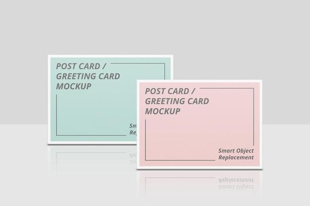 Elegant uitnodigings- of ansichtkaartmodel