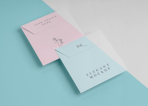 Elegant uitnodigingsmodel