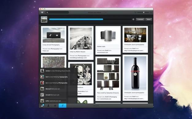 Elegante interfaz de usuario con barra de progreso