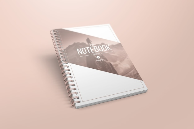 Elegante notebook mockup