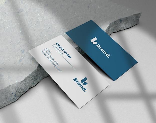 Elegante versterker modern visitekaartjemodel