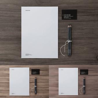 Elementi di disegno di presentazione