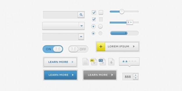 Elementi di interfaccia utente pulita