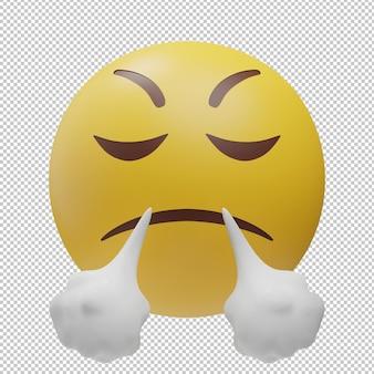 Emoji 3d ilustración