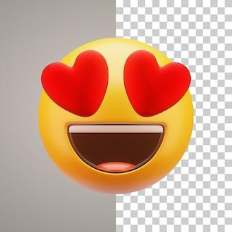 Emoticon de ilustración 3d