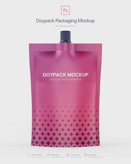 Empaque doypack con boquilla superior