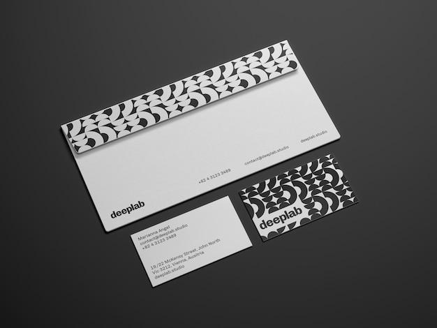 Envelop met visitekaartje