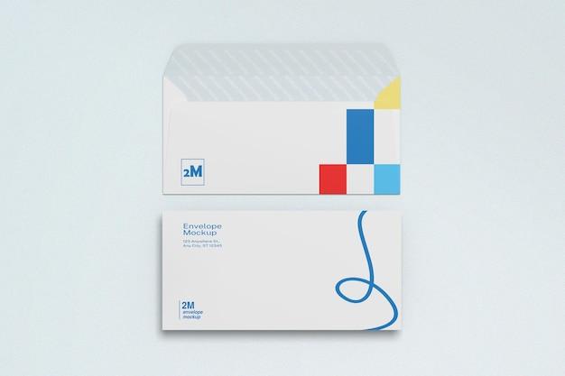 Envelop mockup design rendering