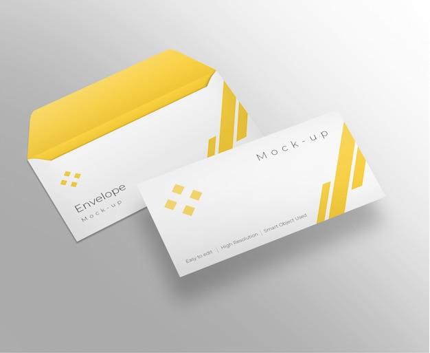 Envelop mockup ontwerp