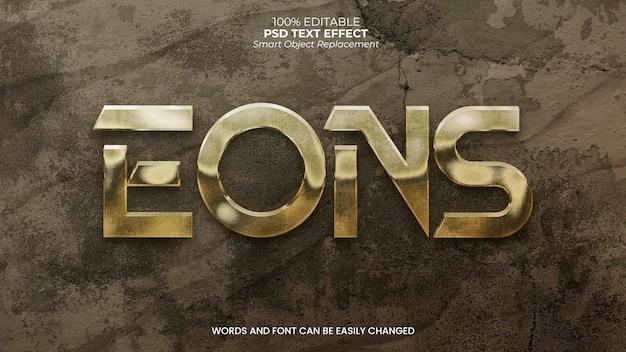 Eons teksteffect