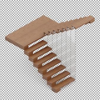 Escaleras isométricas