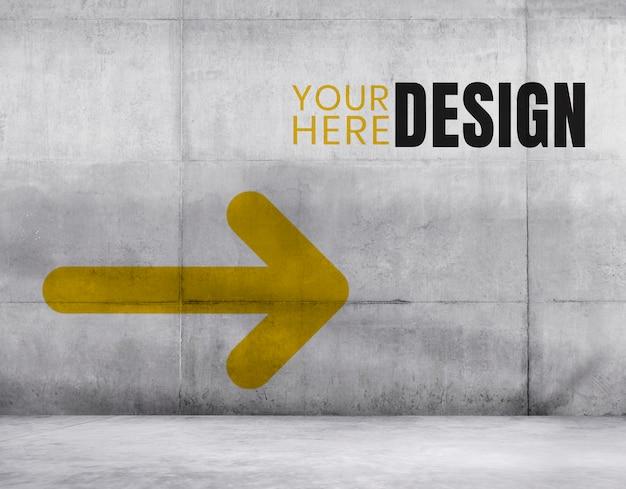 Espacio de diseño de la pared