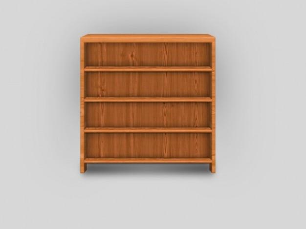 Estanterías de madera vieja muebles