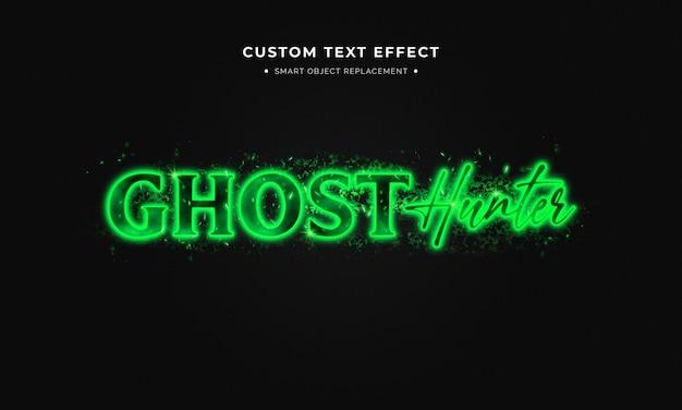 Estilo de texto fantasma
