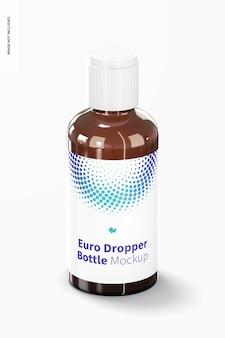 Euro-druppelflesje met doorlaatverloopstukmodel