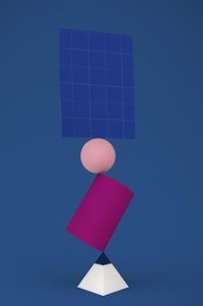 Evenwichtige flyer