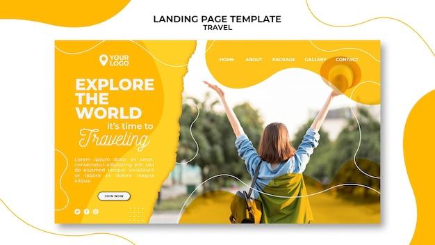 Explore la página de destino mundial