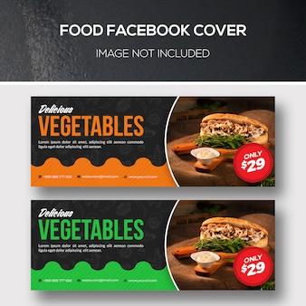 Facebook-dekking voor eten