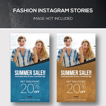 Fashion instagram-verhalen