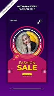 Fashion sale instagram-verhalen