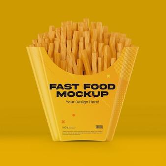 Fastfoodverpakkingen