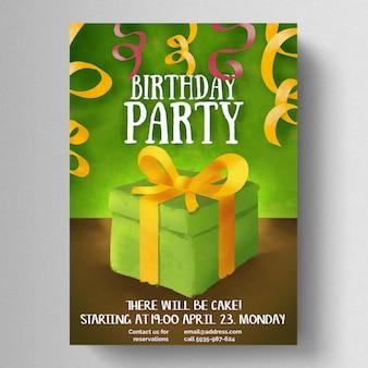 Feliz fiesta de cumpleaños