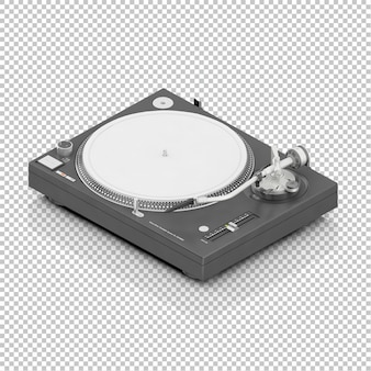 Ferramenta de DJ isométrica